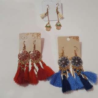 Fashion tussel earring