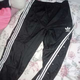 REPRICED!! Adidas Vintage Tear-away Track Pants