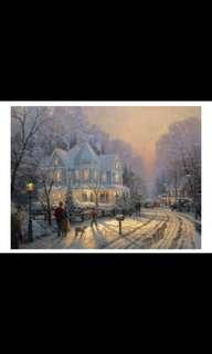 Holiday Gathering by Thomas Kinkade