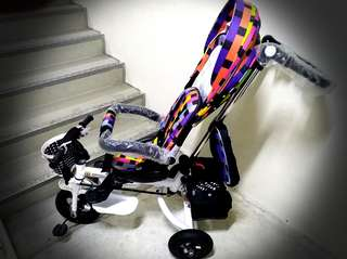 Stroller cum tricycle