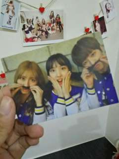 Twice offical photocard