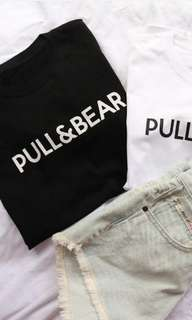 FULL&BEAR #Matterial Cotton Import , Tidak Panas , Look a Like