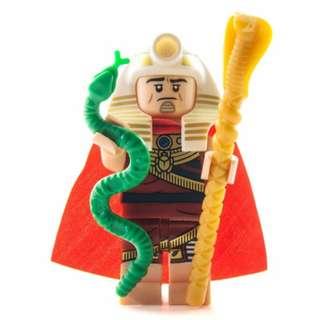 Lego King Tut Batman Movie Series 1 71017 Egyptian Pharoah Pharaoh