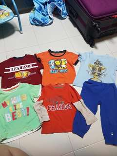 Assorted preloved for 1-2yr old