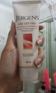 Jergens Body Lotion Age Defying