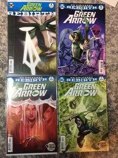 Green Arrow Rebirth Sale!