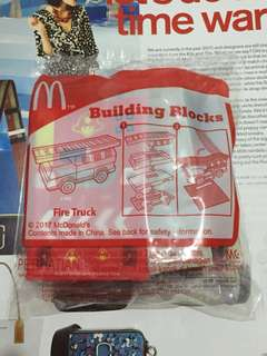Building Blocks Fire Track x Happy Meal
