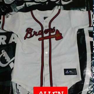 Braves baseball jersey