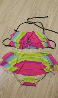 Rainbow Colourful Bikini