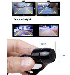 (Ready Stock) Car Reverse / Rear View Camera - Complete Set