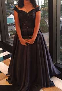 Prom evening long gown