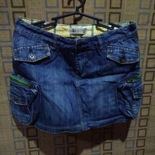 Denim skirt size 30