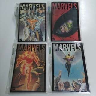 (1994/ genuine) award-winning mini series Marvels comic book (Alex Ross)