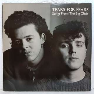 Reserved: Tears For Fears - Songs From The Big Chair Vinyl Record