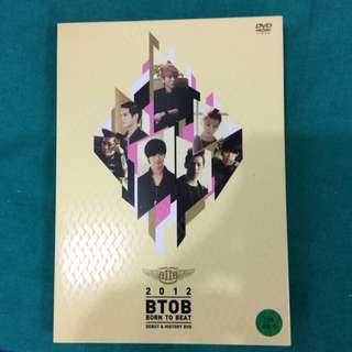 2012 BTOB Born to Beat - Debut & History DVD