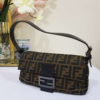 CLEARANCE SALE! Authentic Fendi Zucca Bagette