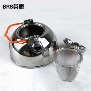 露營茶煲 0.6L stainless steel 不銹鋼 cookset teapot