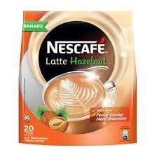 Nescafé Latte Hazelnut Premix Coffee