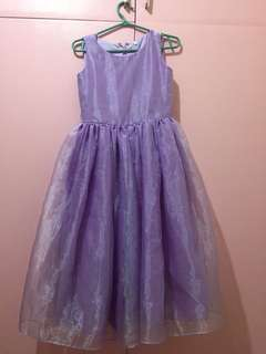 Formal Gown For Kid (5-7years old)