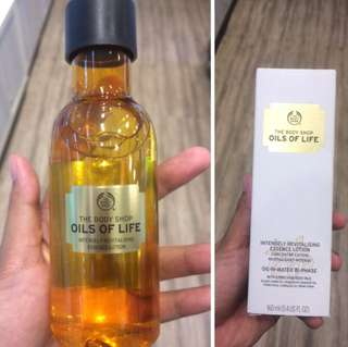 the body shop oil of life essence