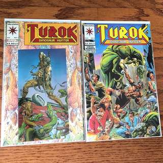 Turok Dinosaur Hunter #1, #2, #3, #4, #5, Deathmate Yellow