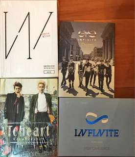 Infinite,toheart four cds
