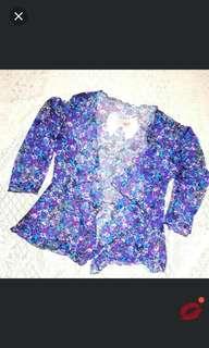 REPRICED! Floral blazer