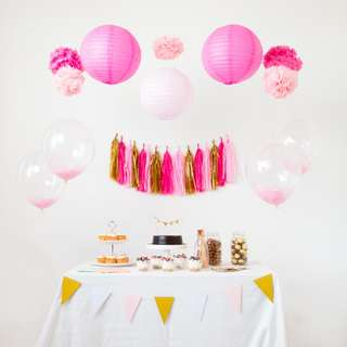 Oh My Pink! Party Theme Set-Up