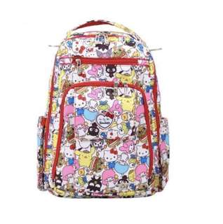 Jujube Be Right Back Sanrio Diaper Bag - Hello Sanrio