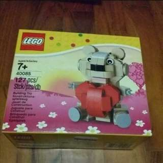 Lego Toys Bricks - Bear with Heart (Valentine)