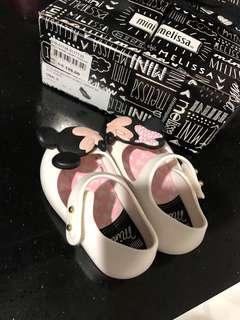 Mini Melissa Shoes Disney - White