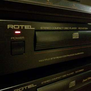 Excellent condition Rotel RCD 970BX cd player