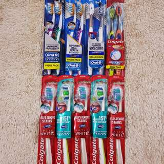 Authentic from USA Colgate and Oral-B Toothbrush
