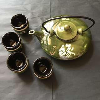 Teapot set new