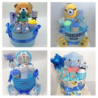 Baby Diapers Cake for Boys Promotion for the month of April !