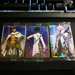 Fate Grand Order Wafer Vol 2 Trading Cards
