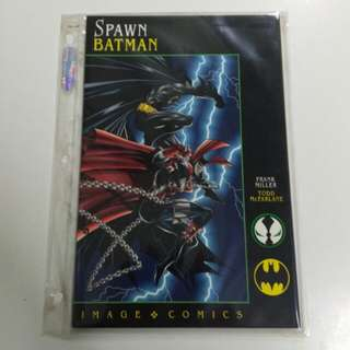 (1994/ sealed/ not read) Spawn Batman by Frank Miller & Todd McFarlane