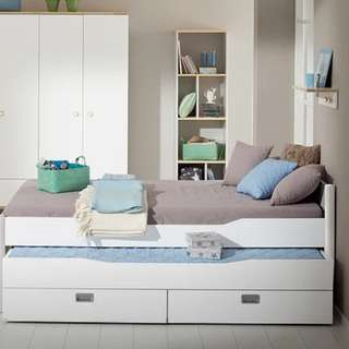 Paidi Ylvie single bed with pull out bed