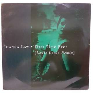 Joanna Law - First Time Ever [Louie-Louie Remix] Vinyl Record