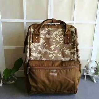 Anello Backpack Nylon Latest Print