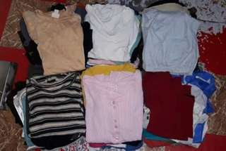 Old stocks ukay(tshirt,joggingpants,skirt,sleeveless)