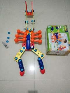 ELC toys built it set wacky animal