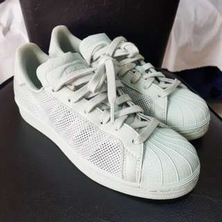 CLEARANCE SALE!! Adidas Superstar Mint Green