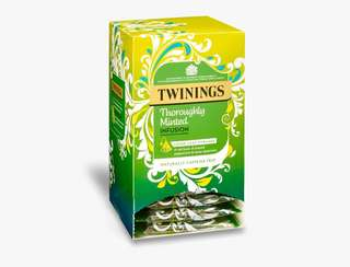 Twinings THOROUGHLY MINTED INFUSION - 12 PYRAMID BAGS 川寧薄荷茶-15個茶包裝(獨立包裝)