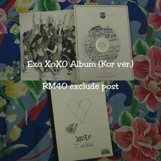 EXO XoXo Album Korean Version