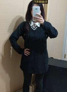 🚚 Korea 學院風洋裝上衣