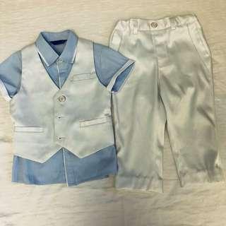 Boys formal wear size 90cm to 95cm 2YO 3YO