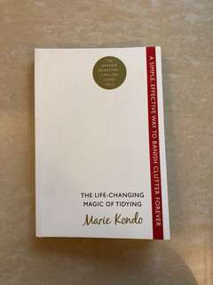 the life changing magic of tidying by marie kondo