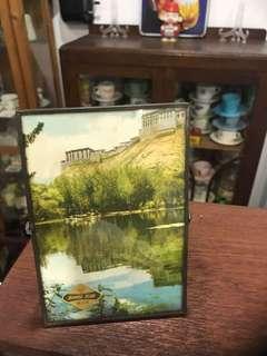Vintage China Mirror