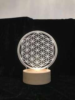 生命之花/能量幾何/table lamp/led燈